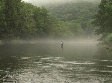 Mike on the Beaverkill River