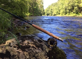 Fly fishing the Farmington River, CT